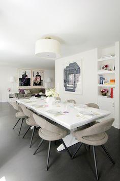A Divine Dining Room. Interior Design: Kapito Muller
