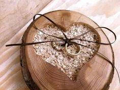 Inspiração: porta-alianças para um casamento no campo 7