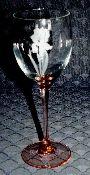 Luminarc Pink Iris Wine Glasses
