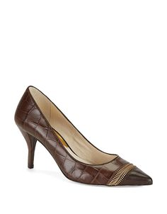 Shoes | Women's Shoes | Haya Snakeskin Pumps | Lord and Taylor