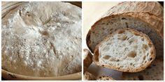 Vynikajúci domáci chlebík s chrumkavou kôrkou a krásne nadýchaným a vláčnym vnútrom. Zvládne ho aj začiatočník. Tiramisu, Bread, Food, Basket, Brot, Essen, Baking, Meals, Breads