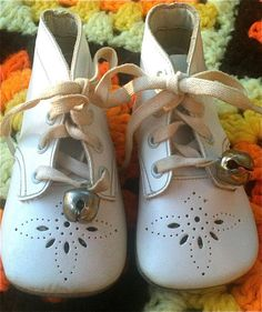 Vintage Baby Shoes 03 Months by lishyloo on Etsy, $10.00