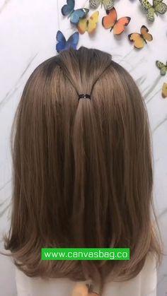 Work Hairstyles, Easy Hairstyles For Long Hair, Braids For Short Hair, Pretty Hairstyles, Hair Tutorials For Medium Hair, Medium Hair Styles, Long Hair Styles, Biracial Hair, Shot Hair Styles