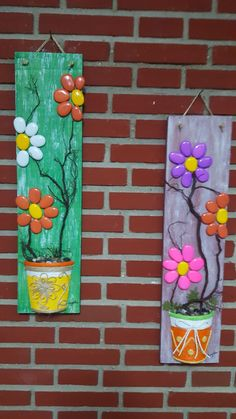 Diy Crafts Hacks, Diy Home Crafts, Garden Crafts, Crafts To Do, Diy Craft Projects, Arts And Crafts, Stone Art Painting, Rock Painting Designs, Pebble Painting
