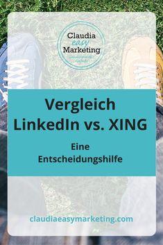 Die Unterschiede zwischen LinkedIn und XING. #linkedin #xing #unterschiede #netzwerken #marketing Social Media Apps, Social Media Marketing, Online Marketing, Linkedin Business, Seo Online, Competitor Analysis, Content Marketing, Good To Know, Online Business