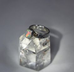 Hey, I found this really awesome Etsy listing at https://www.etsy.com/listing/606322741/badass-welo-opal-skull-ring-set-in