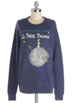 The Little Prince sweatshirt. I want that!!!