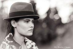 Skye Quinn by Justin Cleaver Durban Panama Hat, Portraits, Hats, Photography, Beauty, Fashion, Moda, Photograph, Hat