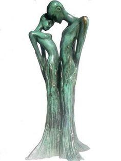 """Saatchi Art Artist Cris Pereby; , """"Les Timides"""" #art"""