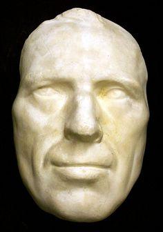 Sterne, Laurence, 1713-1768  death mask
