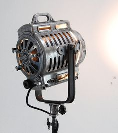 Beautiful old Iconic 40's Vintage Theater Stage spotlight cinema lighting – We collect similar ones – Only/Once – www.onlyonceshop.com