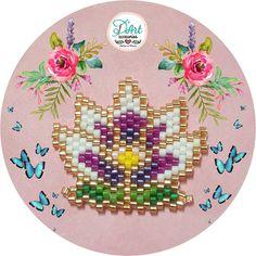 lotus beadwork