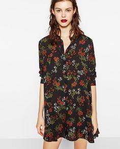 ZARA - WOMAN - FLORAL PRINT DRESS