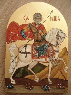 Byzantine Icons, Orthodox Icons, Christian Faith, Wood Paneling, Egyptian, Saints, Princess Zelda, Hand Painted, Painting