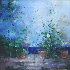 Mehdi Madine (Tetuán) Shades Of Blue, Colour, World, Painting, Morocco, Beauty, Board, Color, Painting Art