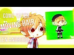 """How to do """"Moving hair"""" Chibi Anime, Anime Art, Green Screen Video Backgrounds, Chroma Key, Digital Art Tutorial, Inspirational Videos, Character Outfits, Club Outfits, Art Tutorials"""