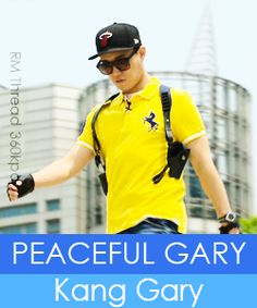 kang gary running man :)
