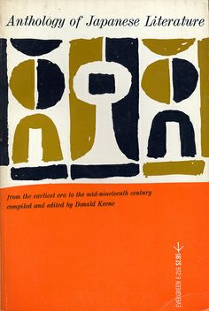Anthology of Japanese Literature, ed Donald Keene 1961, via Montague Projects