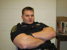 Muscular Male Cops