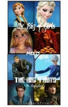 """This is my story, if you're interested I hope you like it. It's called """"The Big 4 Girls Meet The Big 4 Boys (Highschool) (Jelsa).   Wattpad has a lot of stories, and creating an account is super easy and there's an app for it also. Wattpad is awesome!"""