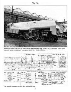"""The experimental Gresley W1 No. 10000 """"Hush-Hush"""" was the only 4-6-4 tender locomotive to run in Britain."""