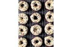 Donuts are the new cupcakes here at One Kings Lane, and these peanut-butter-and-chocolate baked numbers look like they'd be gone in a second (especially with the sprinkles!).