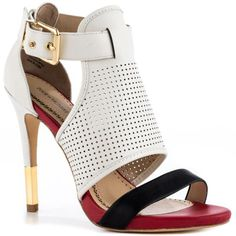 Selena - Wht Blk Red Pour La Victoire    $240 BUY ➜ http://shoespost.com/selena-wht-blk-red-pour-la-victoire/