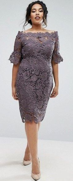 39 Plus Size Spring Wedding Guest Dresses with Sleeves
