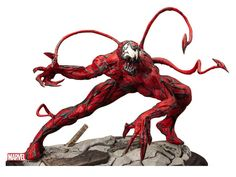Maximum Carnage 1/6 Scale Fine Art Statue - Marvel Statues, Busts, Prop Replicas Statues