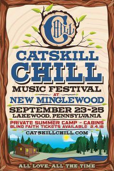 GoRockfest.Com: Catskill Chill Music Festival 2016 Lineup & Ticket...