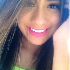 Ally Brooke from fifth harmony love her lipstick in this pic