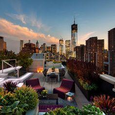 Barlis Wedlick Architects – Tribeca Rooftop Garden - Google Search