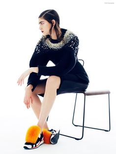 FGR Exclusive   Marcele Dal Cortivo by Daniel Nadel in Autumn Sweeps