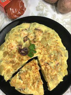 Las recetas de Martuka: Tortilla De Patata Y Pulpo