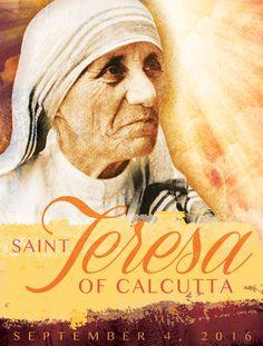 Free English language cover to honor the canonization of Saint Teresa of Calcutta. #MotherTeresa