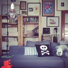 Scandinavian influenced livingroom