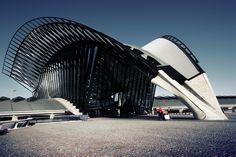 Gare de Lyon Saint-Exupéry - Calatrava