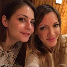 Willa Holland and Katie Cassidy <3