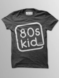 80's Kids - Men's Vintage Black Tri-Blend T-Shirt