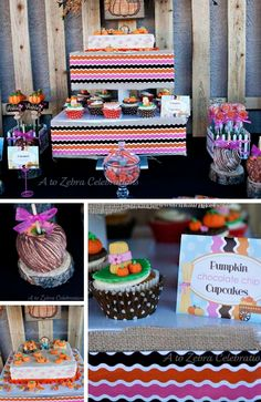 Pumpkin Fall Party Collection - Birthday Party Ideas for Kids Pumpkin Patch Birthday, Pumpkin Patch Party, Pumpkin Birthday Parties, Girls Birthday Party Themes, Little Girl Birthday, Birthday Gifts For Girls, Little Pumpkin Party, Baby In Pumpkin, Halloween Gifts
