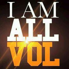 I am ALL VOL! VFL!!