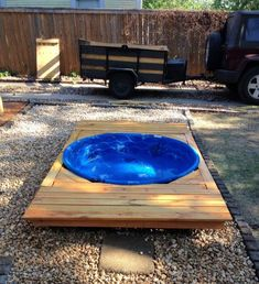 8 Easy DIY Dog Pool Ideas - Its Overflowing