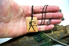 This item is unavailable Wooden Necklace, Libra Zodiac, Pendant Jewelry, Arrow Necklace, Gifts, Handmade, Etsy, Wood Necklace, Presents