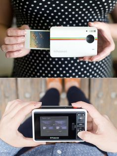 The Polaroid Z2300 is the smallest digital camera we've seen that delivers instant prints. It uses Premium ZINK paper that can't be accidentally exposed, costs less per shot than Polaroid film and has a peel-off sticky back . Print your favorite shots and save everything directly to the camera or your SD card. $160 I want it!!!