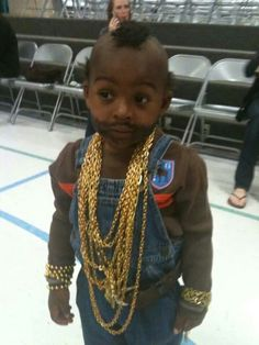 Mr. T halloween costume lol