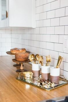 Kitchen Essentials - These Curated Counters Have Insta-Worthy Appeal - Photos