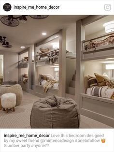 dream rooms for adults . dream rooms for women . dream rooms for couples . dream rooms for adults bedrooms . dream rooms for girls teenagers Bunk Bed Rooms, Bunk Beds Built In, Build In Bunk Beds, Adult Bunk Beds, Cool Bunk Beds, Attic Rooms, Dream Home Design, House Design, Design Design