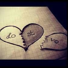 This picture represents the lost love between Hamlet and Ophelia. They deeply loved each other but at the end their love just brought pain, and they both seem to have a broken heart. Sad Drawings, Drawing Sketches, Pencil Drawings, Cute Drawings Of Love, Drawing Ideas, Tumblr Drawings Easy, Cool Easy Drawings, Lyric Drawings, Art Drawings Beautiful
