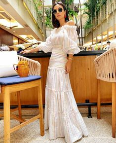 White Dresses For Women, Dresses For Teens, White Women, Dresses Online, Nice Dresses, White Outfits, Summer Outfits, Summer Dresses, Women's Couture Fashion