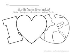 Science For Kids Earth Day April 22nd